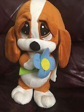 "12"" Sad Sam & Honey Stuffed Plush Dog KELLY TOY"