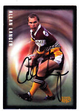 Autographed Allan Langer NRL & Rugby League Trading Cards