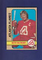 Keith McCreary 1972-73 O-PEE-CHEE OPC Hockey #25 (VGEX) Atlanta Flames