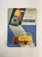 Vintage TUF- TOYS Die Cast Metal Free Wheel Trucks Tanker Truck New Carded (622)