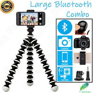 LARGE Flexible Gorilla Tripod | the new BLUETOOTH Combo | iPhone Samsung GoPro