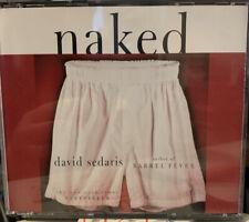 David Sedaris NAKED (3 CD Audio Book) Time Warner Audiobooks