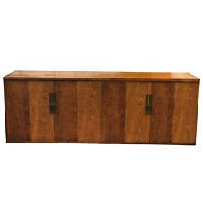 Mid Century Modern Walnut Sideboard Credenza Cabinet by Baker Furniture