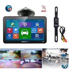XGODY 7'' 8GB GPS Navigation Bluetooth System with Wireless rearview Camera Unit