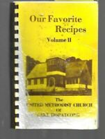 # COOKBOOK Vintage 1980's United Methodist Church of LAKE HOPATCONG NJ Recipes