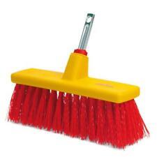 Wolf-Garten Multi-Change® Yard Broom Cleaning Tool Replacement Brush Head - Red