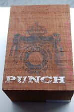 Punch Bareknuckle Rustic Wooden Cigar Box empty wood cigar box 7HK nbr 2 or 4