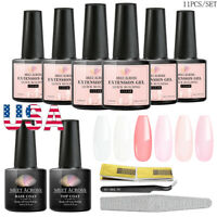 Meet Across 11Pcs/set Quick Acrylic Poly Nail Extension Gel Building Nail Gel