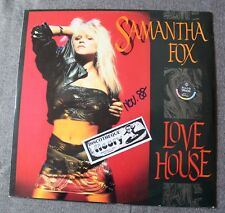 Samantha Fox, love house + 2 , Maxi Vinyl import Holland