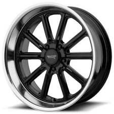 "4ea 20"" Staggered American Racing Wheels VN507 Rodder Gloss Black Rims(S4)"