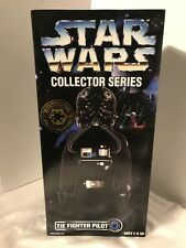 "Star Wars Collector Series Tie Fighter Action Figure 12"" New in Box Kenner 1997"