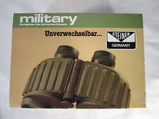 Rare 1986 Steiner Military 8x30 E GA VW 541 Binoculars, New in Box, NIB NOS