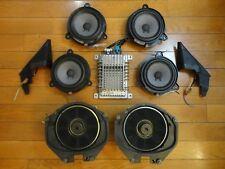 Bose 9-Piece Car Sound System *Powered* Speakers Nissan Infiniti Audi Mazda GMC
