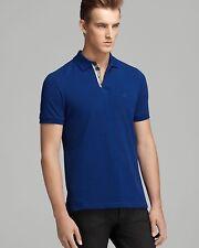 Authentic Burberry Brit Men Checker Placket Pique Polo Shirt Classic Fit  Regular L 5ae75c23fa3