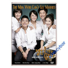 """""""BUY 5 GET 1 FREE"""" The Man Who Can't Get Married Korean Drama (4DVDs) GOOD_ENG"""