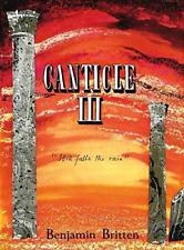Hal Leonard HL48008893 Canticle III, Op. 55