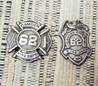 Pair of Early Camden NJ Fire Department Badges