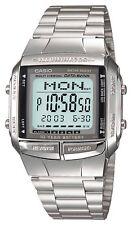 CASIO DATABANK DB-360-1AJF Silver Men's Stainless Steel Watch
