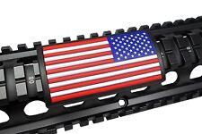 U.S. Flag, Stars Right - Grip PVC Custom Picatinny Rail Cover