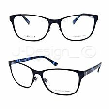 96bc0c8a16 GUCCI GG 4268 HPO Matte Black 53 16 140 Eyeglasses Rx Made Italy -