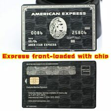 American Express Centurion Card made by metal customize yourself GREAT GIFT Free