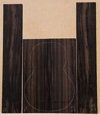 Macassar Ebony #07 Ukulele Set Tenor Size Back and Sides Luthier Tonewood