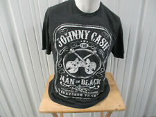 Vintage Johnny Cash The Man In Black W/ The Tennessee Three Xl Shirt Preowned