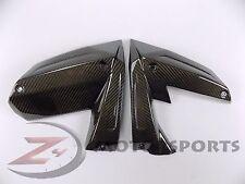 2008 2009 ZX10-R ZX10R Upper Side Mid Cover Fairing Panel Trim 100% Carbon Fiber