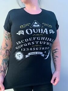 OUIJA Ladies T Shirt Sz. (XL) Witchy Goth Girl Oracle