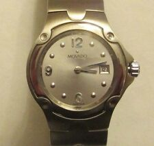 MOVADO MODEL 84 G4 1851 STAINLESS STEEL  WATCH  SPORT EDITION WITH DATE
