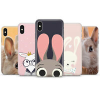 Rabbit, Bunny Phone case cover fits for iPhone 11 5 6 7 8, 7+, X/XS, XS max, XR
