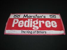 Marston's pedigree the king of bitters bar towel - Htf ~ 6786