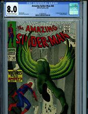Amazing Spider-man #48 CGC 8.0 1967 Marvel Comic 1st New Vulture Amricons K19