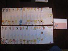 Strawberry Shortcake's FRIENDS handmade Stationary paper envelopes vintage