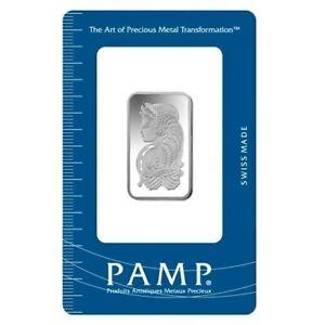 Lingot argent PAMP 10 grammes 999 ‰ Ag – Fortuna