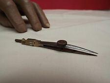 DRAWING INSTRUMENT (PEN MARKER) BRASS (C1890) ARTICULATED (ARCHITECTURE)