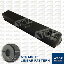 "ATOZ Single Knurl Straight Linear Knurling Tool Holder Size 3/4"" x 3/4"" x 5"""