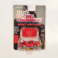 Racing Champions 1996 Pontiac Firebird Red Diecast Car 1/60 Mint Edition #20 NEW