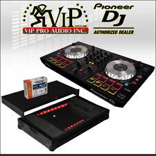 Pioneer DDJ-SB3 SERATO CONTROLLER 2-CH Mixer + X-MXTSBLTBL Case w/ Laptop Shelf.