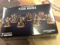 Plague Marines 40K Warhammer Death Guard NIB Sealed