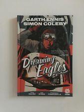 SIGNED by cvr artist Francavilla DREAMING EAGLES Garth Ennis Hardcover HC