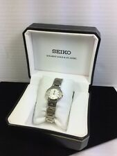 Seiko 18kt Gold And Stainless Ladies Watch (W13)