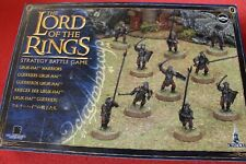 Games Workshop Lord of the Rings Uruk-Hai Warriors x10 LoTR New Uruk Hai Urukhai