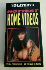Playboy's Hottest Home Videos VHS Promotional Copy Rare Centerfold 30 minutes