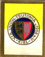 Fußball SAMMELBILD KURMARK SPORTWAPPEN S1 B5 1930-31 VfB UNION TEUTONIA 08 KIEL