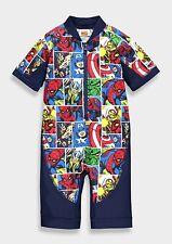 Ragazzi Marvel Avengers Surf Tuta Bambini Costumi Da Bagno Piscina Spiaggia Vacanza Costumi da bagno.