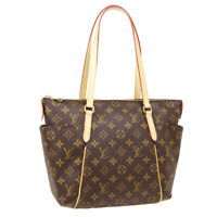 LOUIS VUITTON TOTALLY PM HAND TOTE BAG DU4195 PURSE MONOGRAM CANVAS M41016 36822
