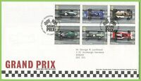 G.B. 2007 Grand Prix set on Royal Mail First Day Cover, Silverstone