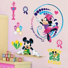 Mickey Mouse Disney Cartoon Wall Sticker Children's Room Minnie Vinyl Decals