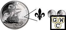 2004 Ile Sainte-Croix Fleur de Lis BU Silver $ .9999 Fine *No Tax (11836)